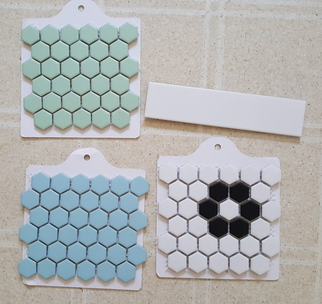 The Historic District Merola Tile Samples